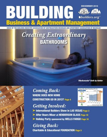 December 2012 BBAM Magazine - HBA of Southeastern Michigan