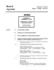 Agenda 11-12-03.pdf - Santa Rosa Junior College