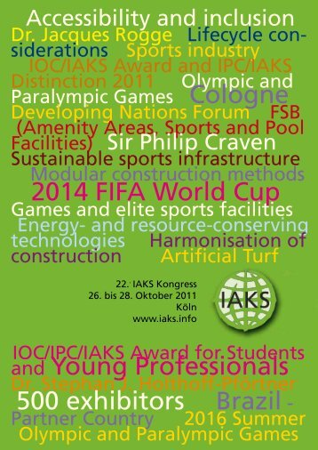 2014 FIFA World Cup and Young Professionals 500 exhibitors Brazil -