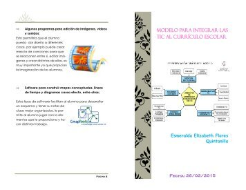 Modelo para integrar las TIC al currículo escolar