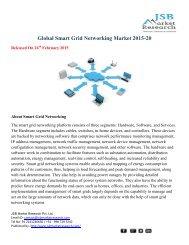 Global Smart Grid Networking Market 2015-2019