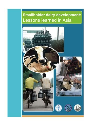 Smallholder dairy development: Lessons learned in Asia.