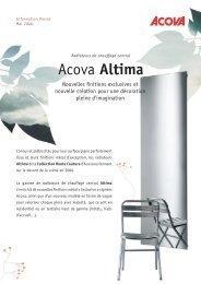 Acova Altima - Climamaison