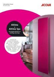 Altima Altima Spa - Climamaison