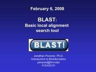 BLAST! - Pevsner Lab