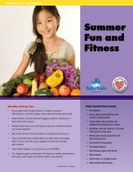 Summer Fun and Fitness - The Child Abuse Prevention Center