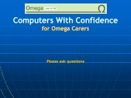 Computers with confidence- email quiz (power point) - Omega