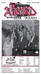 May 2013 - Ainad Shriners