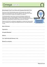 Nomination Form - Omega - uk.net