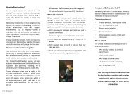 Chatterbox information leaflet for volunteers - Omega - uk.net