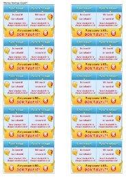 Martin's money mantra cards - Omega - uk.net