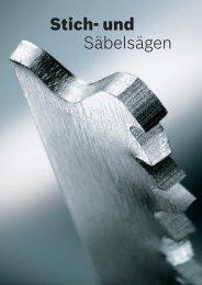 Stich- und Säbelsägen - Bosch Elektrowerkzeuge