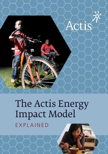 The Actis Energy Impact Model Explained