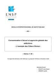 L'exemple des Côtes d'Armor - Banque de données en santé publique