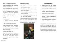 Chatterbox information leaflet for beneficiaries - Omega - uk.net