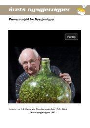 Prøveprosjekt for Nysgjerrigper - Nysgjerrigpermetoden.no