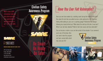 Civilian Safety Awareness