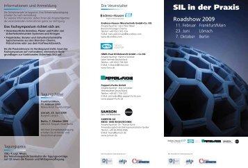 "Programmflyer ""SIL in der Praxis"" (PDF, 371 KB) - Pepperl+Fuchs"