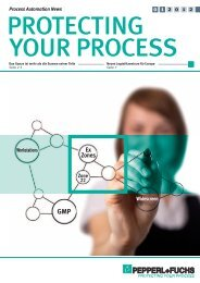 protecting your process 01/2012 (pdf; 3,5 mb) - Pepperl+Fuchs