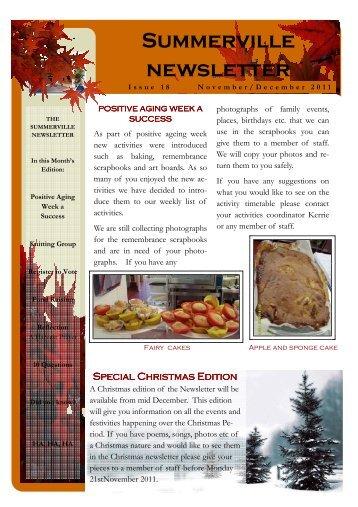 Nov Dec Newsletter.pub - Summerville Nursing Home