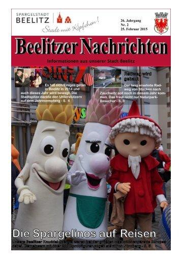 Beelitzer Nachrichten - Februar 2015