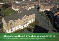 Chantry Square, Blocks 1-3 Temple Court - Fox Lloyd Jones