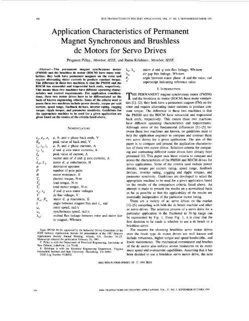 Application Characteristics Of Permanent Magnet Colgate