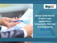 Global Product Type and Applications of LIDAR Market to 2020