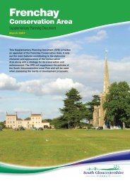 Frenchay Conservation Area SPD and Maps - South ...