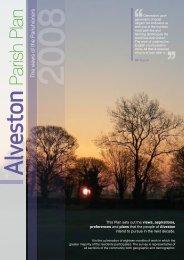 Alveston parish plan - South Gloucestershire Council