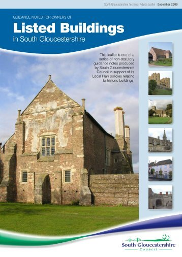 Listed Buildings - South Gloucestershire Council