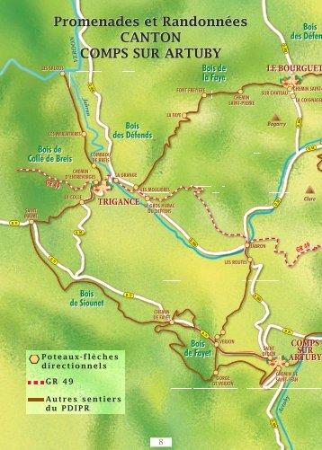 Promenades et Randonnées CANTON COMPS ... - Artuby Verdon