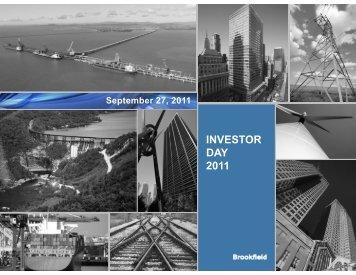 Investing - Brookfield Asset Management