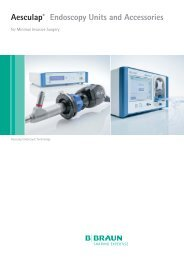 Aesculap® Endoscopy Units and Accessories