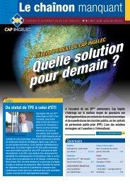 Télécharger le journal au format PDF - Cap Ingelec