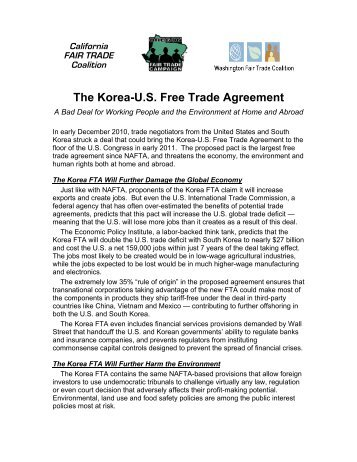 Us Peru Strike Free Trade Agreement Citizens Trade Campaign