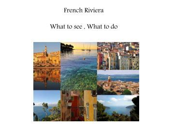 French Riviera - w travel france