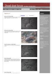 dagboek van dode dieren Groenlanden ree nr9 - Dood Doet Leven
