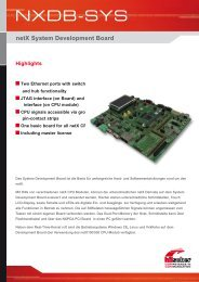 netX System Development Board - Hilscher