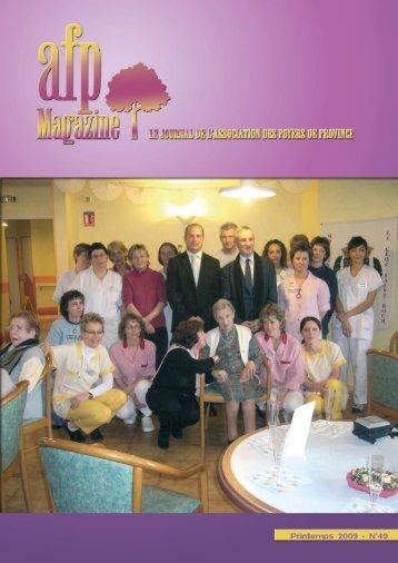 Lire le n°49 - AFP, Résidences retraite