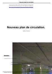 Nouveau plan de circulation. - Ville de Mazeres