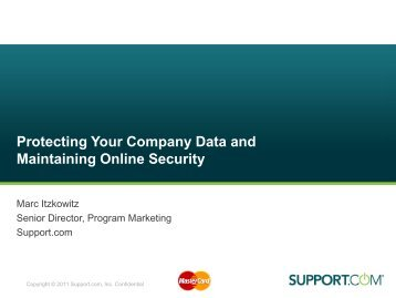 Protecting Your Company Data and Maintaining ... - MasterCard