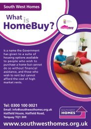 What is Homebuy (PDF 591 KB) - Stroud District Council