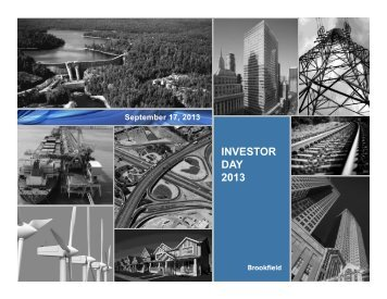 Presentation - Brookfield Asset Management