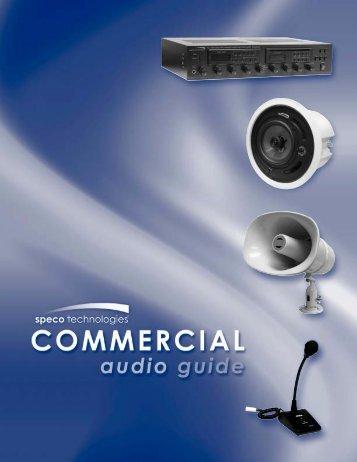 speco audio installation book - Stark Electronics