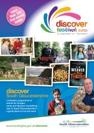 Discover brochure 2013.indd - South Gloucestershire Council