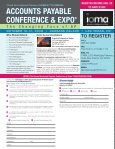 accounts payable conference & expo® accounts payable ... - Page 4