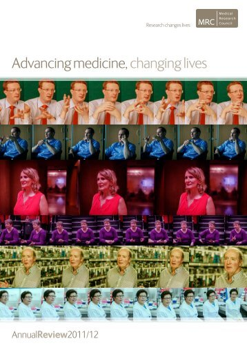 Advancing medicine, changing lives - Medical Research Council