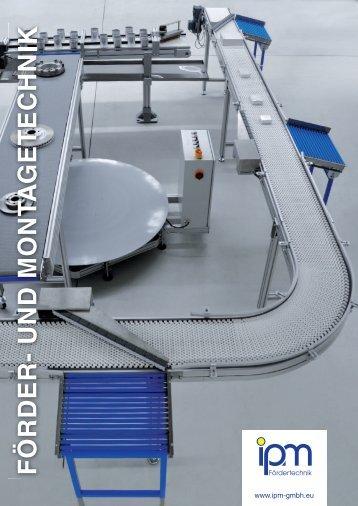 Broschüre der IPM Industrieprodukte Meißner GmbH