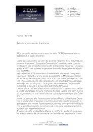 Relazione Presidente Roma 26-03-11 - siemg